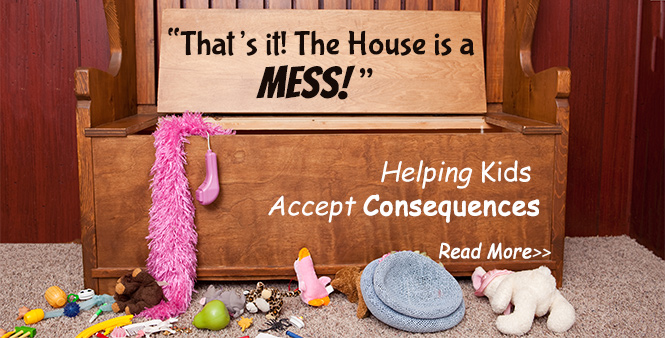 Homeschool mom Amy Koons shares her system to teach her kids about accepting consequences. Read More >>