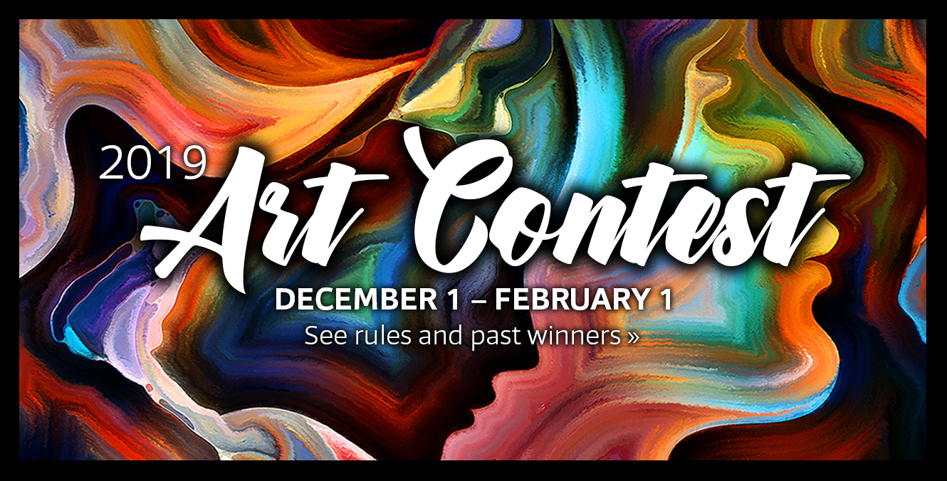 HSLDA's 2019 Art Contest is underway…submit your work of art today ! Click here to see the rules and past winners >>