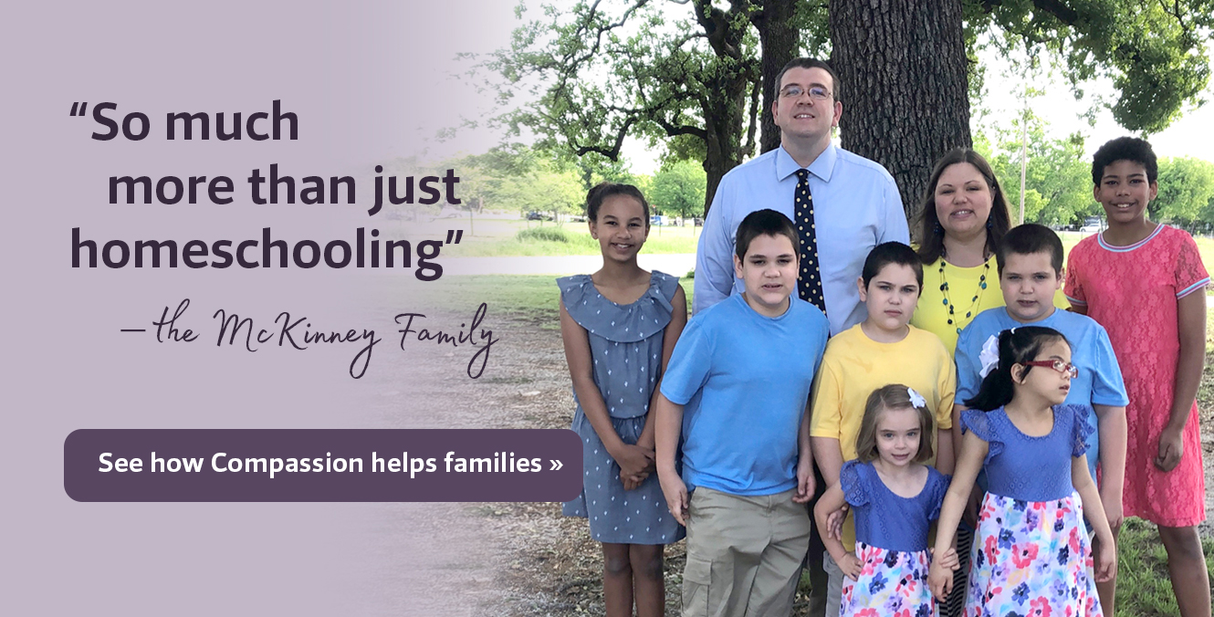 Click here to see how HSLDA Compassion helps homeschool families >>