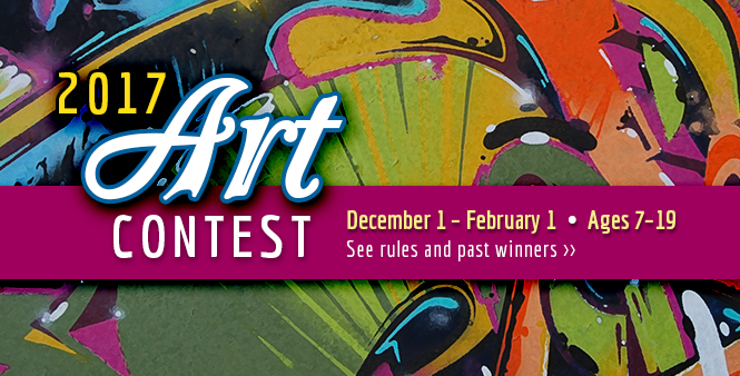 HSLDA's 2017 Art Contest offers different categories and prizes for students ages 7-19. Get entry details online now! >>