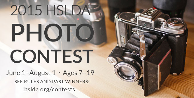 HSLDA's 2015 Annual Photo Contest offers different categories and prizes for students ages 7-19. Get entry details online now! >>