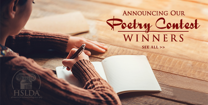 Read the winning entries from HSLDA's 2016 Poetry Contest for homeschooled students! >>