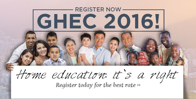 Register today for the 2016 Global Home Education Conference in Brazil! >>