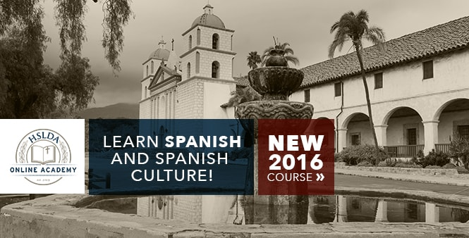 Looking for help teaching Spanish? Check out HSLDA Online Academy 2016 courses >>