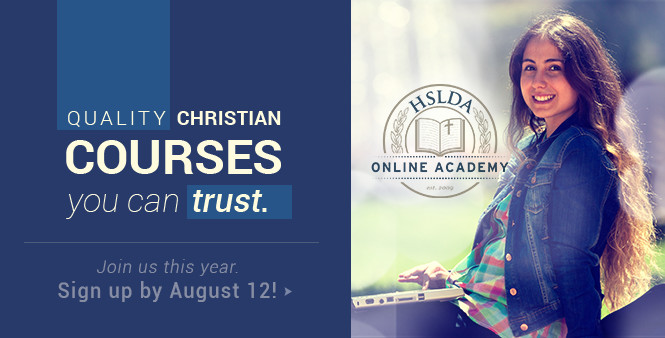 Sign up for Fall 2015 HSLDA Online Academy classes for your homeschooled high school student! >>