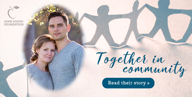Learn how one homeschool community came together to support a mom dealing with cancer >>