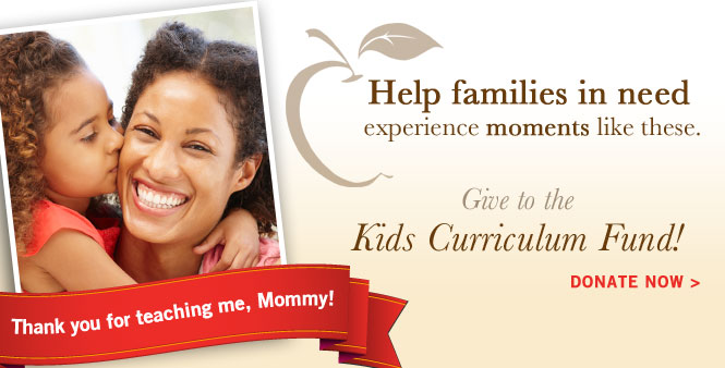 Help struggling familes meet their children's homeschooling needs through the Kids Curriculum Fund. Donate now! >>