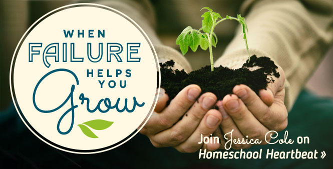 Feeling unqualified to homeschool your kids? With HSLDA blogger Jessica Cole, turn your failures into opportunities for growth! Listen now >>