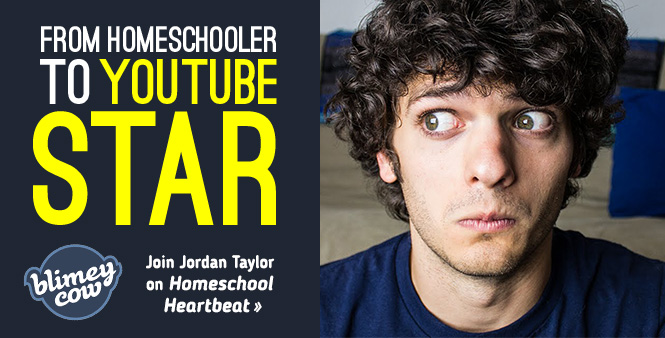 Blimey Cow's Jordan Taylor discusses his journey from homeschool graduate to viral YouTube sensation. Listen now >>