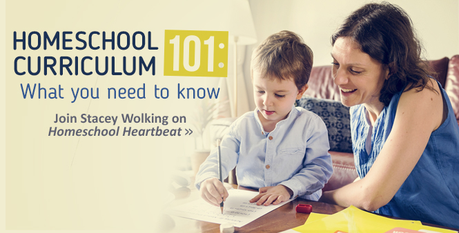 Homeschool curriculum 101: Stacey Wolking reveals what you need to know | Listen now >>