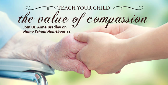 Economist Anne Bradley: teach children how to help the poor with compassion and dignity. This week on Home School Heartbeat. Listen now >>