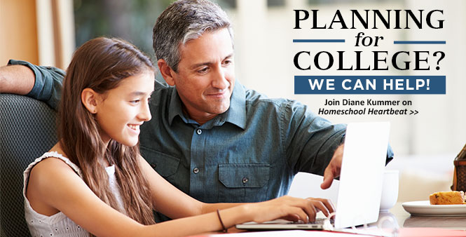 Learn how you can help your homeschool student prepare for college—with HSLDA consultant Diane Kummer. Listen now >>