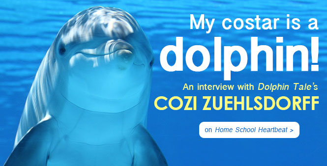 Dolphin Tale's Cozi Zuehlsdorff talks about  homeschooling, acting, and breaking into the film industry. Listen now >>