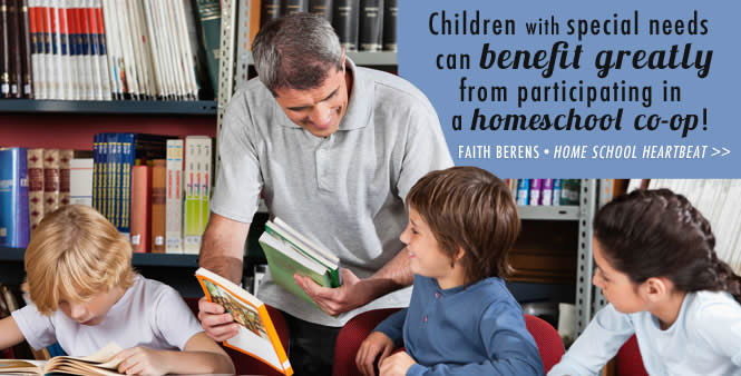 Help your struggling learner to study and grow with a homeschool co-op. Faith Berens shows you how on this week's Home School Heartbeat. Listen now >>