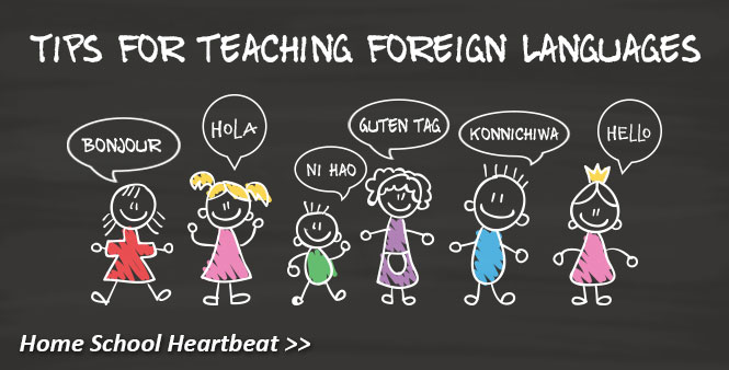 Homeschool moms, grads, and linguists share tips for teaching a foreign language. Listen now >>