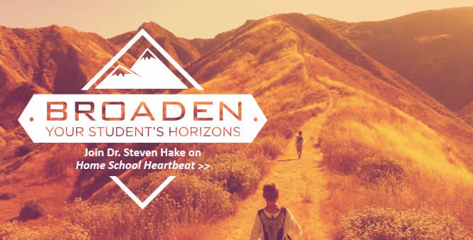 Literature professor Steven Hake shows how your student can grow by reading good books and exploring the great outdoors. This week on Home School Heartbeat. Listen now >>