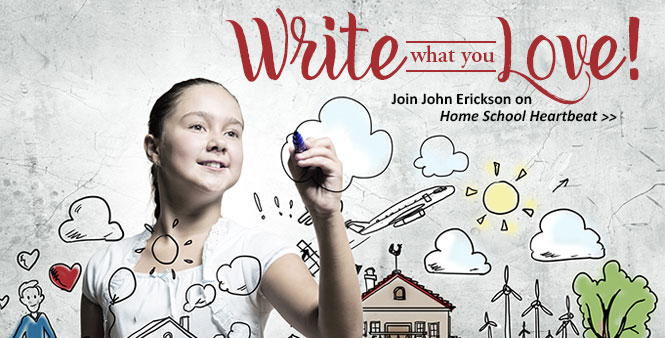 Author John Erickson explains what makes a great story—and how to start writing. Listen now on Home School Heartbeat >>