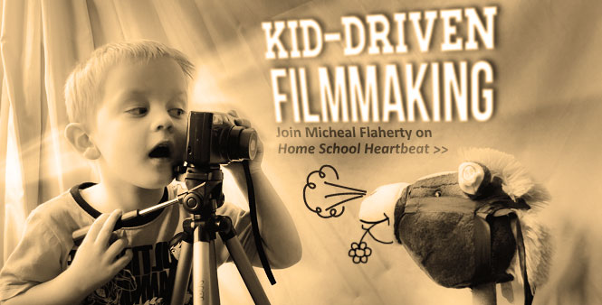 Discover how films can inspire kids to seek out truth. Join  Micheal Flaherty on Home School Heartbeat. Listen now >>