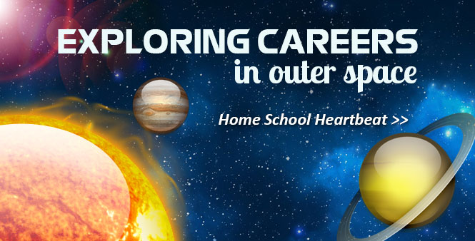 Rocket scientist John Palmé talks about turning your love for outer space into a great career. This week on Home School Heartbeat. Listen now >>