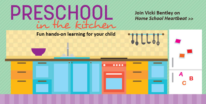 HSLDA's Vicki Bentley shares fun and effective ways to homeschool your preschooler. This week on Home School Heartbeat. Listen now >>