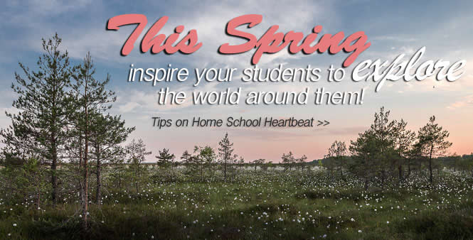 Looking for some fresh ideas for your kids' homeschool lessons this spring? Join Mike Smith on Home School Heartbeat---listen now >>