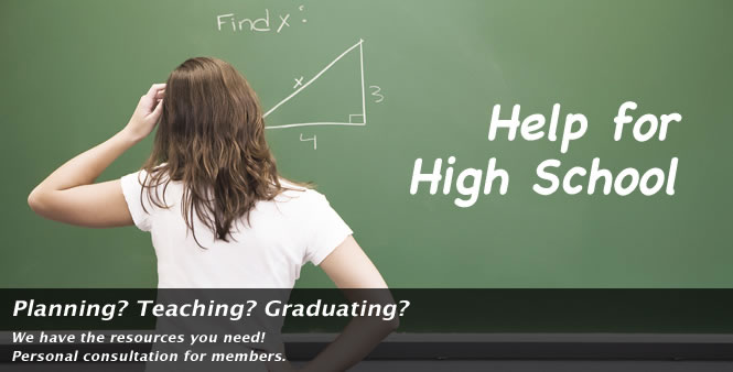 Planning? Teaching? Graduating? HSLDA has the resources you need for high schoolers!