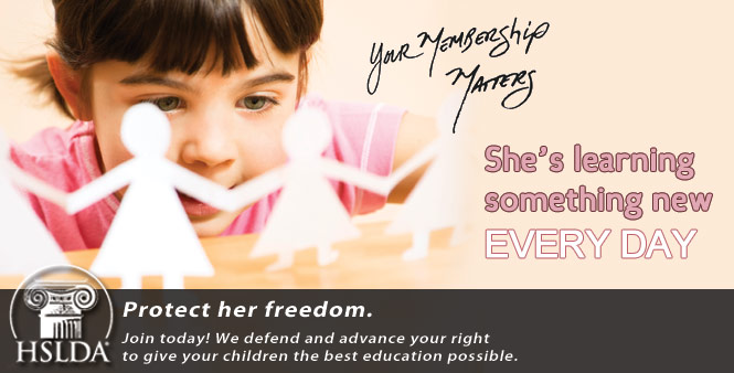 She's learning something new every day! Protect her freedom. Join today! Your membership matters!