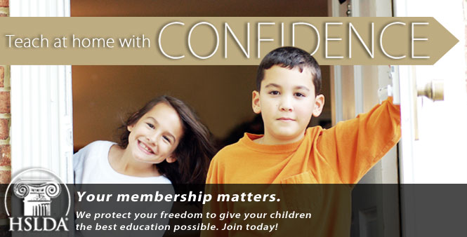 Homeschool with confidence. Join today! Your membership matters!