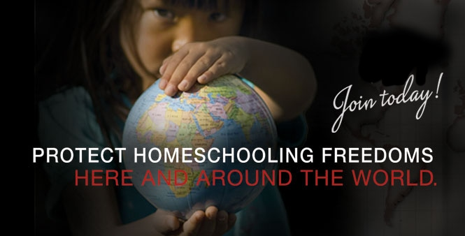 Join today to protect homeschooling freedoms here and around the world! >>