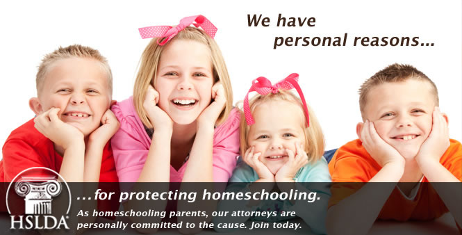 Our attorneys are homeschooling parents and personally committed to the cause. Join HSLDA today!