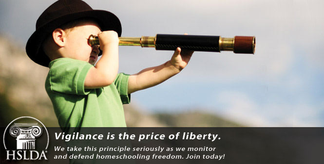 Vigilance is the price of homeschool liberty. HSLDA takes this principle seriously. Join today!