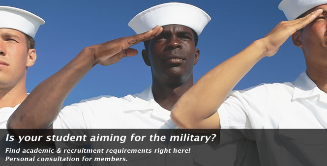 Homeschool graduate aiming for the military? Get answers here >>