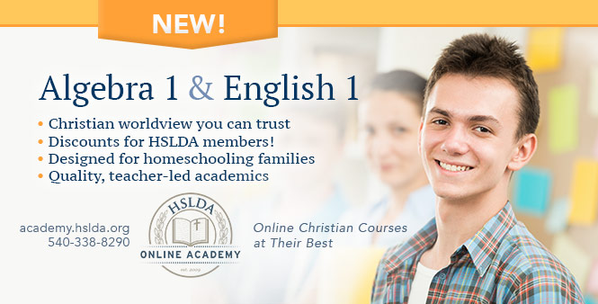 Check out the new courses at HSLDA's Online Academy!