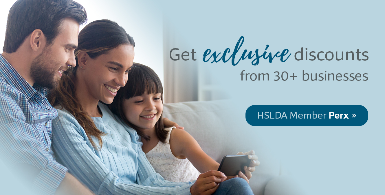 Get exclusive discounts from 30+ businesses through HSLDA's Member Perx program >>