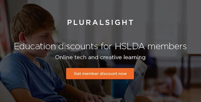 Get your exclusive HSLDA member discount on Pluralsight's 4500+ online tech and creative learning courses. Save now >