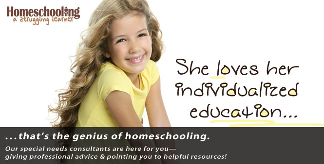 Homeschooling a struggling learner? Find out how HSLDA can serve you!