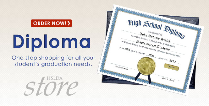 Enjoy one-stop shopping for all your student's 2013 graduation needs at the HSLDA Store. Order today!