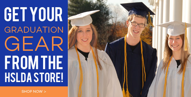 Get all your homeschool graduation gear from the HSLDA store! Shop now >>