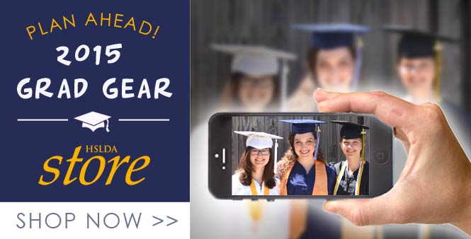 Enjoy one-stop shopping for all your student's 2015 graduation needs at the HSLDA Store. Order today!