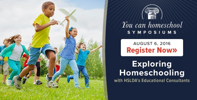 Don't miss Exploring Homeschooling---a one-day symposium with HSLDA's educational consultants. Register by Aug. 3 >