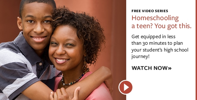 Get equipped to plan your teen's homeschool journey with HSLDA's Education Consultants! Watch our FREE video series>>